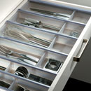 in drawer cutlery storage